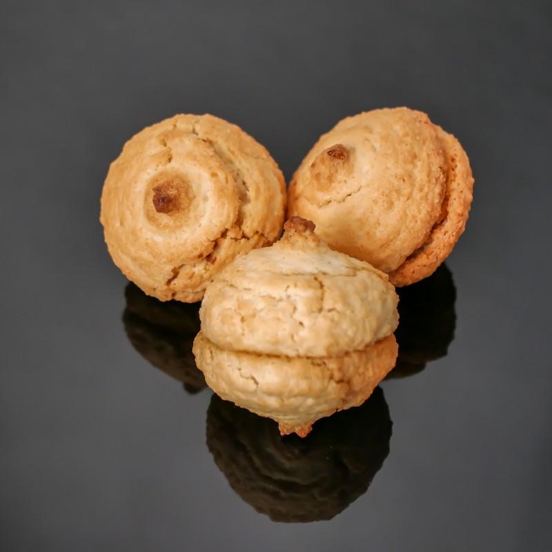 Macarons souples aux amandes