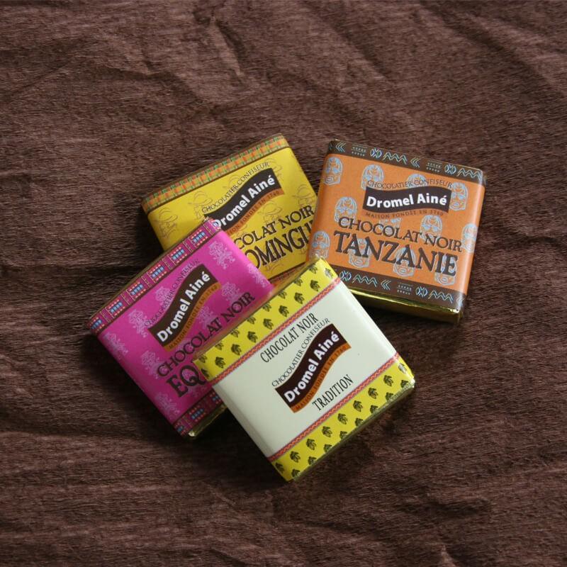 Mini-tablettes de chocolat...