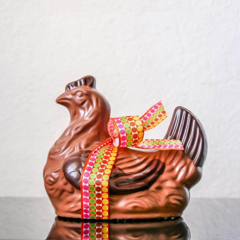 Poule n°5 au chocolat au...