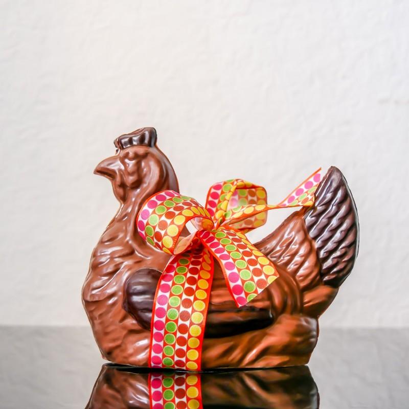 Poule n°6 au chocolat au...