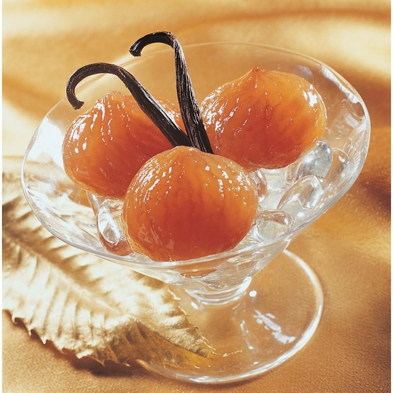 Marrons glacés entiers nus