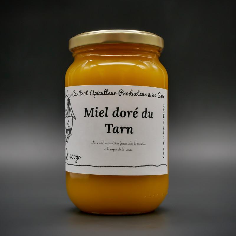 Pot de 1 kg de miel du Tarn