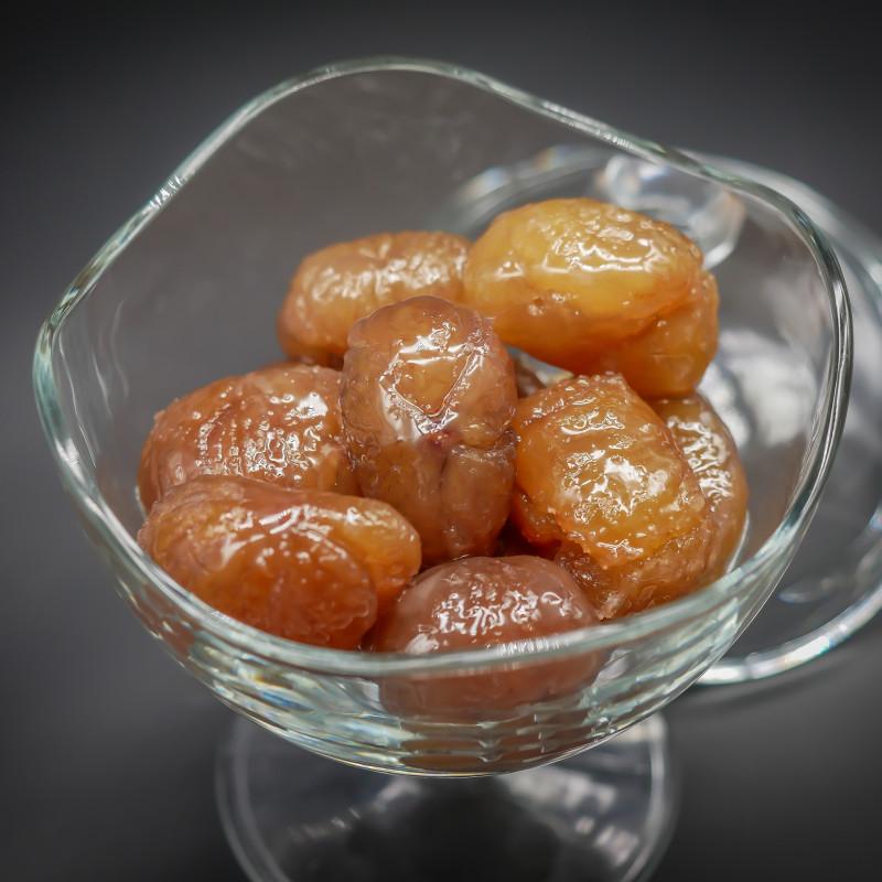 Boîte de 500 g de marrons...