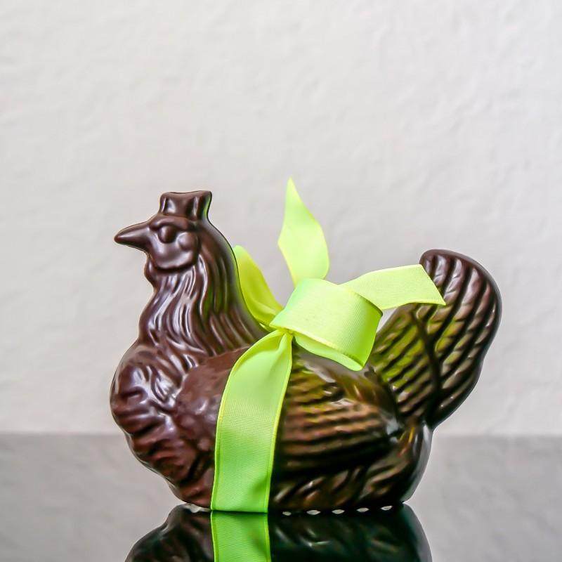 Poule n°4 au chocolat noir...
