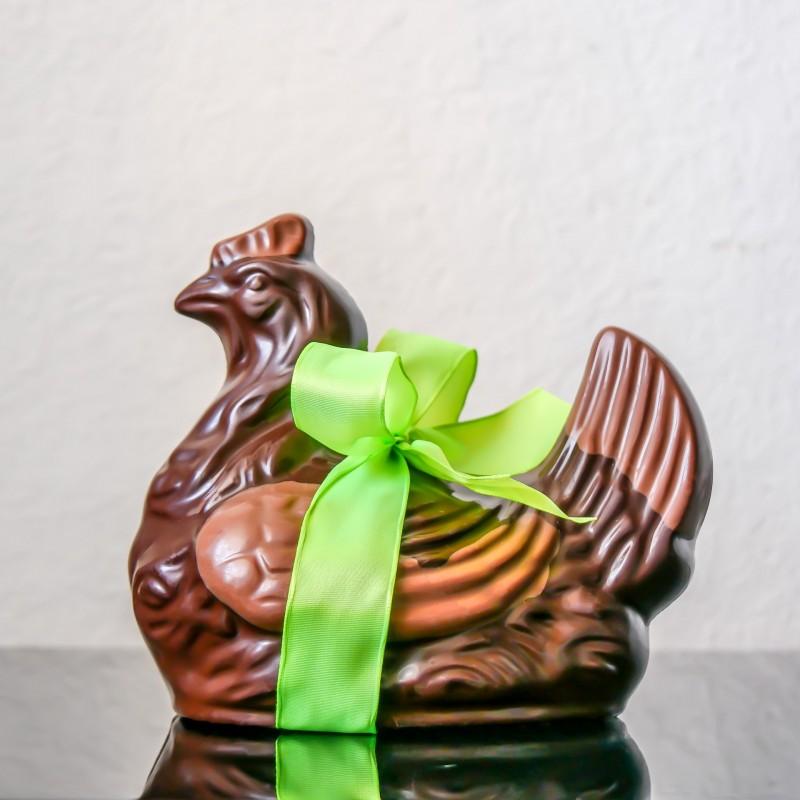 Poule n°6 au chocolat noir...